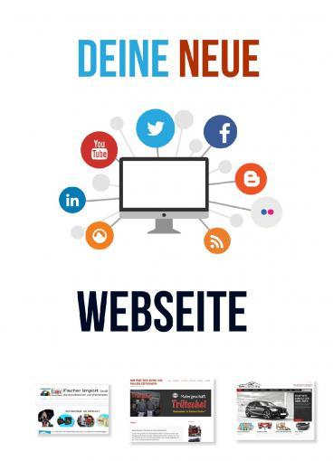 Webseite Homepage Firmenwebseite Internetseite erstellen Wordpress CMS