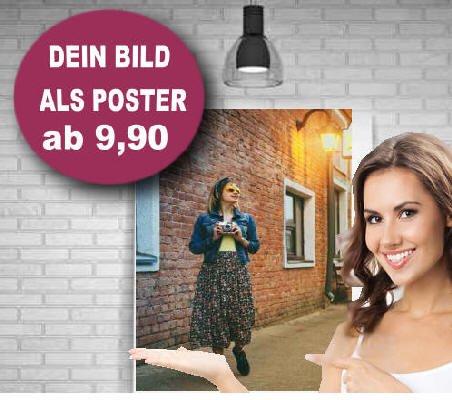 Dein Bild   Foto als Poster Druck   Fotoposter   Posterdruck 2St. DINA2 +DIN A3