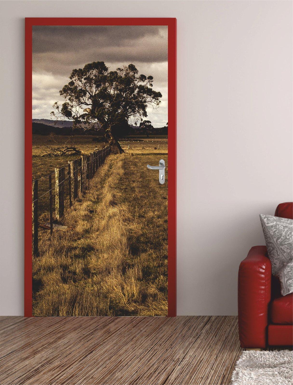 digitaldruck t rposter countryside t raufkleber t rfolie t rtapete. Black Bedroom Furniture Sets. Home Design Ideas