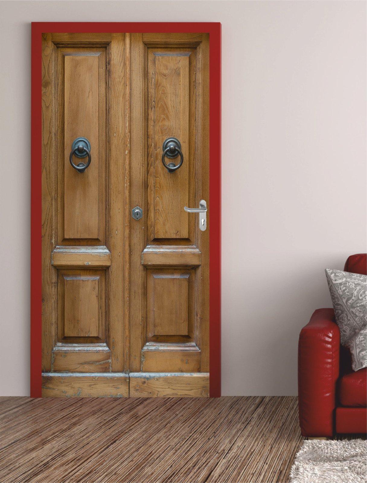 digitaldruck t rposter alte haust r t raufkleber t rfolie t rtapete. Black Bedroom Furniture Sets. Home Design Ideas